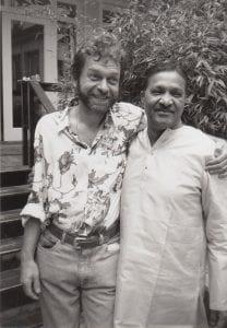 Bhikkhu, early days in Munich office ca. 1993